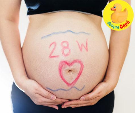 Saptamana 28: decizii legate de nastere - jurnal de sarcina