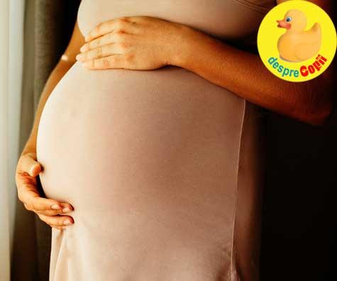 Saptamana 29 de sarcina: au aparut contractiile false - jurnal de sarcina