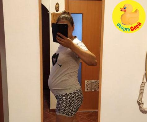 Consult la 29 de saptamani: suntem in grafic si bebe e cu capul in jos deja - jurnal de sarcina