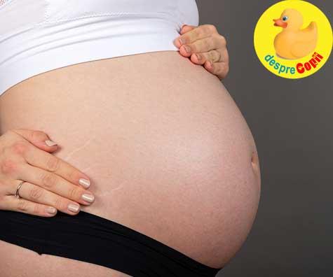 Saptamana 32: greutatea in trimestrul 3 si picioare umflate - jurnal de sarcina