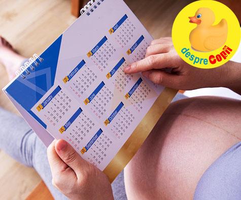 Am intrat in saptamana 34 - jurnal de sarcina