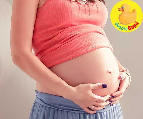 Sunt ultimele saptamani de sarcina si sta întinsa cu capul in jos pe canapea in fiecare zi. Iata de ce - relatarea unei gravidute celebre