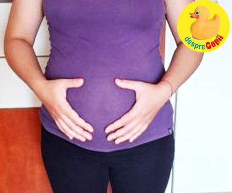 Aproape 37 de saptamani: bebe s-a pozitiionat cu capul in jos - jurnal de sarcina