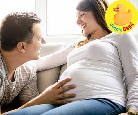 Saptamana 37 de sarcina - bucuria de a avea un bebe - jurnal de sarcina