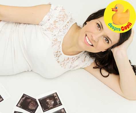 Prima ecografie de confirmare a sarcinii in saptamana 7 - jurnal de sarcina