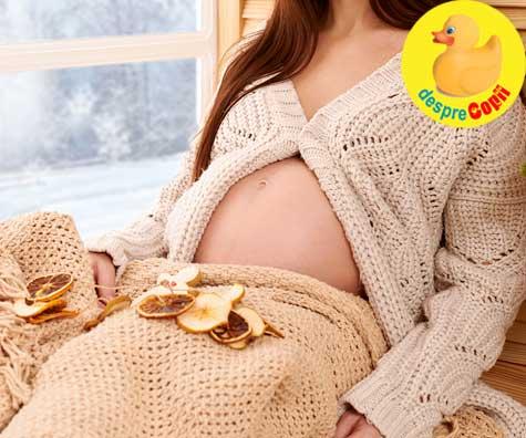 Bebe vine de Craciun - un Craciun plin de sperante cu emotii mari in sarcina - jurnal de sarcina