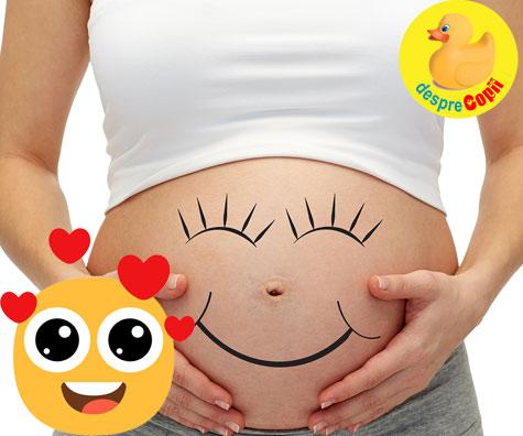 Esti gravida? Buricul iti dezvaluie deja daca vei avea fetita sau baietel - o alta teorie