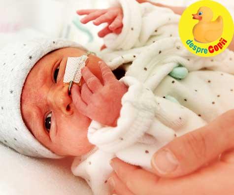 Mama care a riscat totul ducand la bun sfarsit o sarcina extrauterina (ectopica)