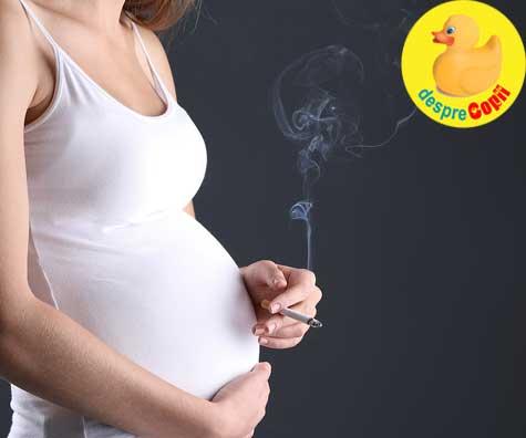 Femeile care fumeaza in timpul sarcinii pun in pericol fertilitatea copiilor lor
