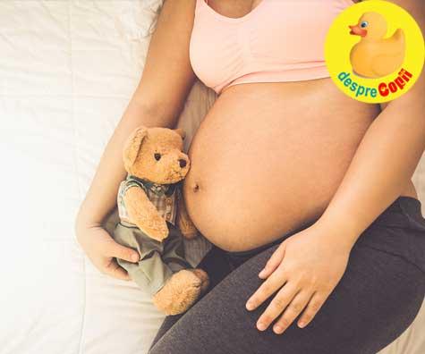 Dorinte in saptamana 23 de sarcina - jurnal de sarcina