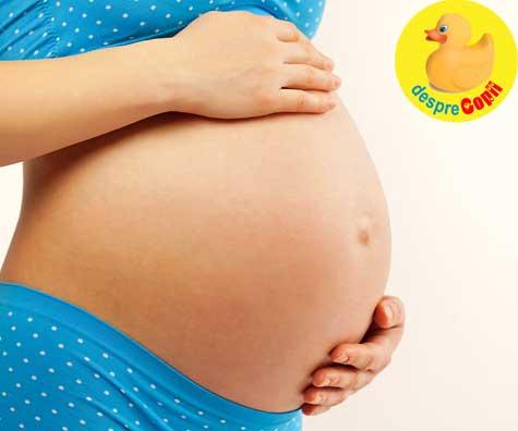 Cum se simte mami la 37 saptamani de sarcina - jurnal de sarcina