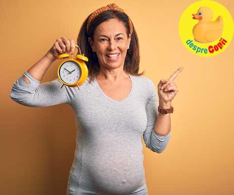 Insarcinata si fericita la 43 de ani - jurnal de sarcina