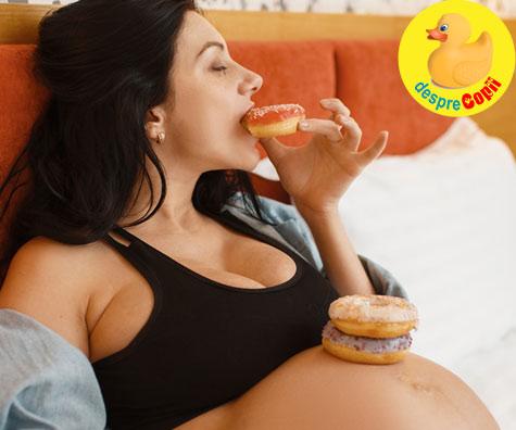 Esti insarcinata? Alimentele tale preferate acum vor fi preferatele bebelusului tau