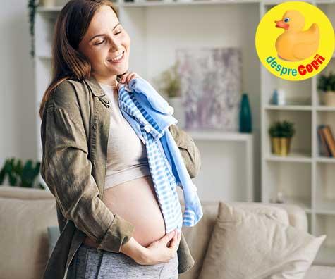 Sarcina nu e o boala, ci o bucurie - jurnal de sarcina
