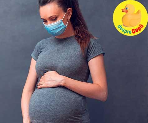 Insarcinata in timp de pandemie: experienta unei mamici si sfatul medicului