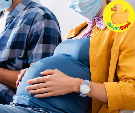Sarcina in vreme de Sars-Cov-2 - jurnal de sarcina