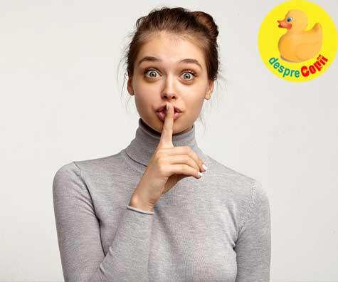 4 luni de sarcina tinute in secret - jurnal de sarcina