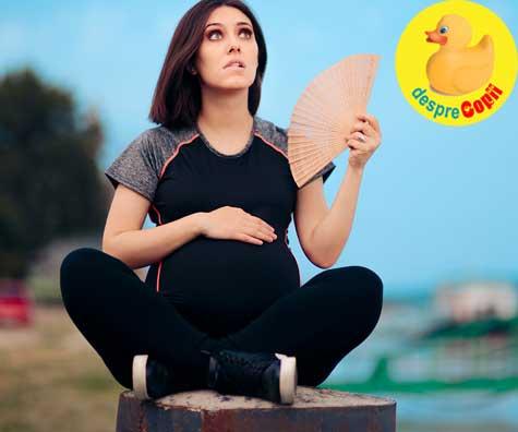 Supraincalzirea in sarcina poate produce probleme majore fatului. Iata care sunt semnele supraincalzirii si ce trebuie sa faci.