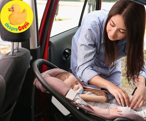 Scaunul de masina pentru bebelusi - greseli pe care nu trebuie sa le faci
