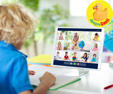 Copilul meu va face scoala online - jurnal de pandemie