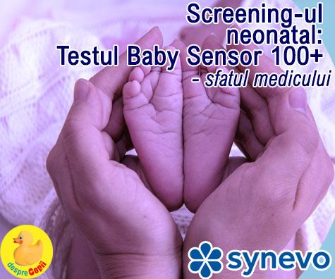 Screening-ul neonatal: Testul Baby Sensor 100+ - sfatul medicului (VIDEO)