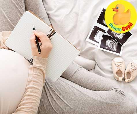 Scrisoare catre fiul meu ce se va naste - jurnal de sarcina