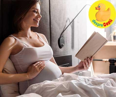 Scrisoare catre copilul care o sa vina - jurnal de sarcina