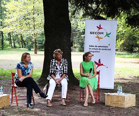 Sanatatea prinde radacini in Gradina cu remedii, un proiect marca Secom