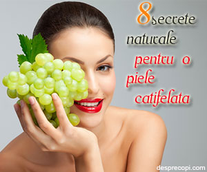 8 secrete naturale ce fac minuni pentru pielea ta