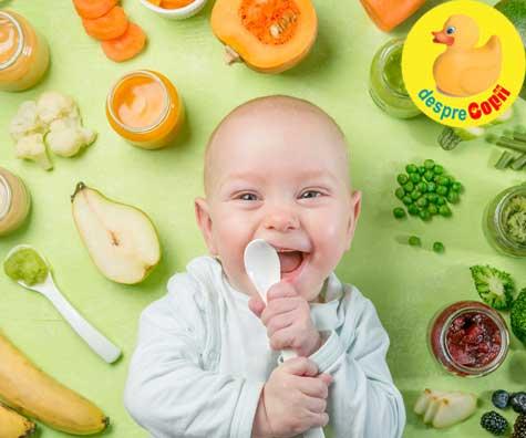 6 semne ca bebelusul este pregatit pentru a primi alimente solide (diversificarea) - conform Academiei Americane de Pediatrie