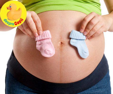 La cate saptamani de sarcina se poate vedea sexul bebelusului?