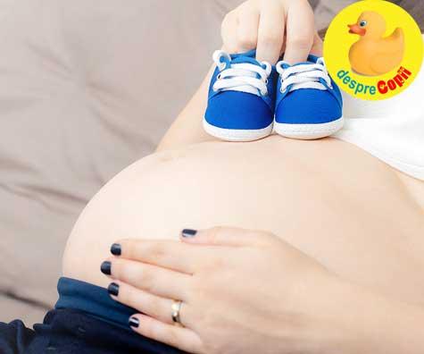 Aflarea sexului bebelusului - jurnal de sarcina