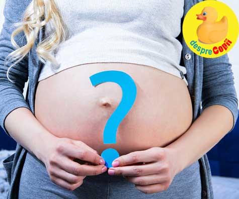 Primul trimestru de sarcina si sexul bebelusului - jurnal de sarcina