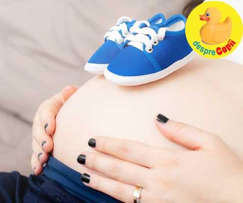 Ziua cea mare in care aflam sexul bebelusului - jurnal de sarcina