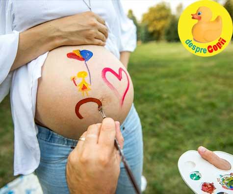 Ce se afla in oul Kinder? Baietel sau fetita - jurnal de sarcina