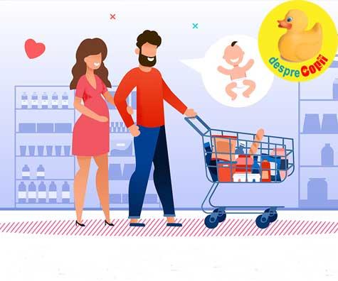 Primul shopping pentru bebe - jurnal de sarcina