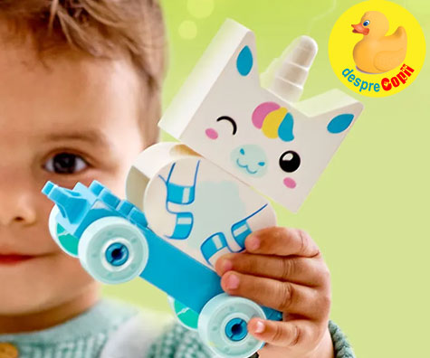 Siguranta copiilor si joaca cu LEGO® DUPLO®