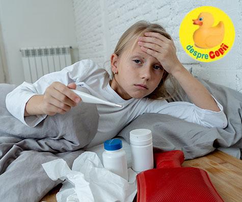 5 simptome pe care nu trebuie sa le neglijam la copii