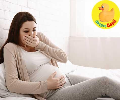 O sarcina mult dorita dar cu multe simptome chinuitoare - jurnal de sarcina
