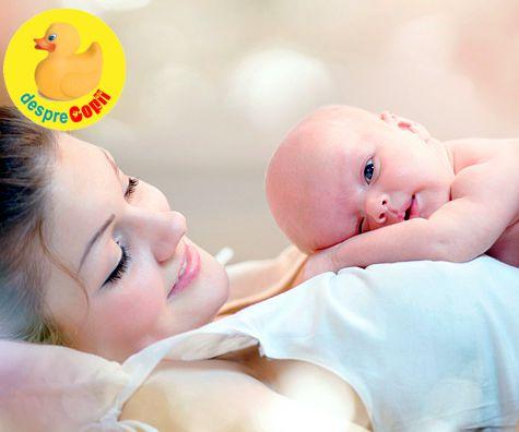 Stiinta simturilor pentru un bebelus sanatos