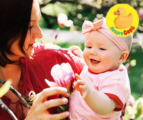 Rolul si importanta simturilor in dezvoltarea bebelusului