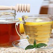 Slabiti cu otet de mere, miere si ceai verde