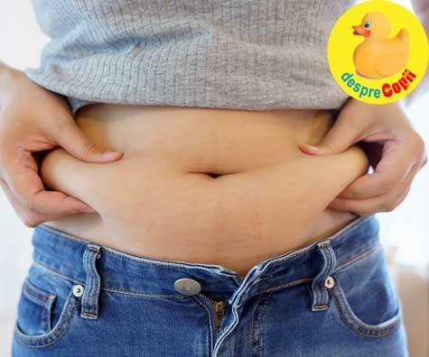 De ce este atat de greu sa scapam de grasimea abdominala dupa ce am implinit 40 de ani?