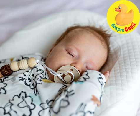 Somnul bebelusului la 2 luni: cat doarme si probleme de somn la 2 luni