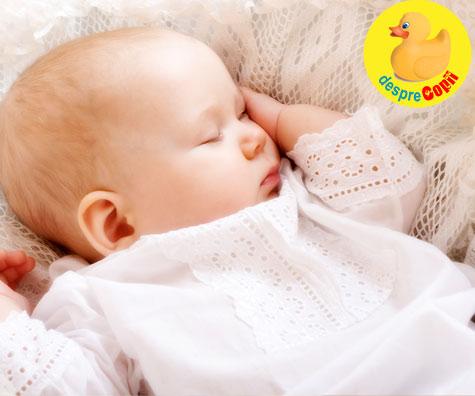 Bebelusul nu vrea sa doarma pe spate - ce facem? Sfatul medicului pediatru