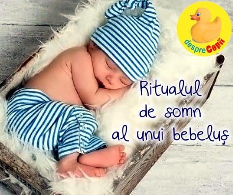 Rutina de somn a unui bebelus: iata de ce bebe doarme mai bine daca stie ce urmeaza