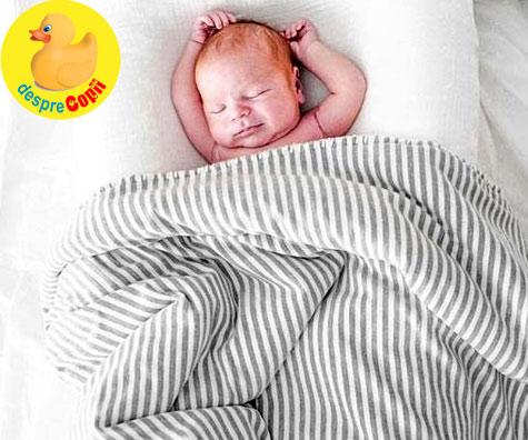 Este posibil ca un bebelus sa doarma prea mult? Iata sfatul specialistilor