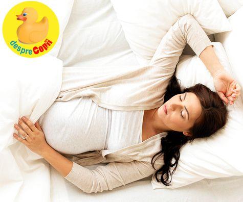 De ce somnul este important in timpul sarcinii