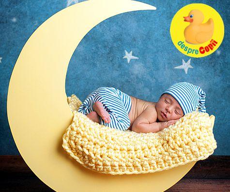 Somnul bebelusului: cat doarme si de ce nu doarme