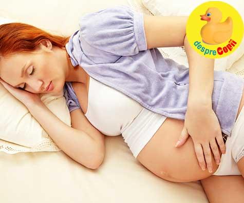 Somnul in saptamana 26 de sarcina - jurnal de sarcina